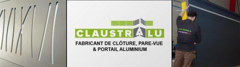 Société claustralu fabricant de claustra et portail en aluminium