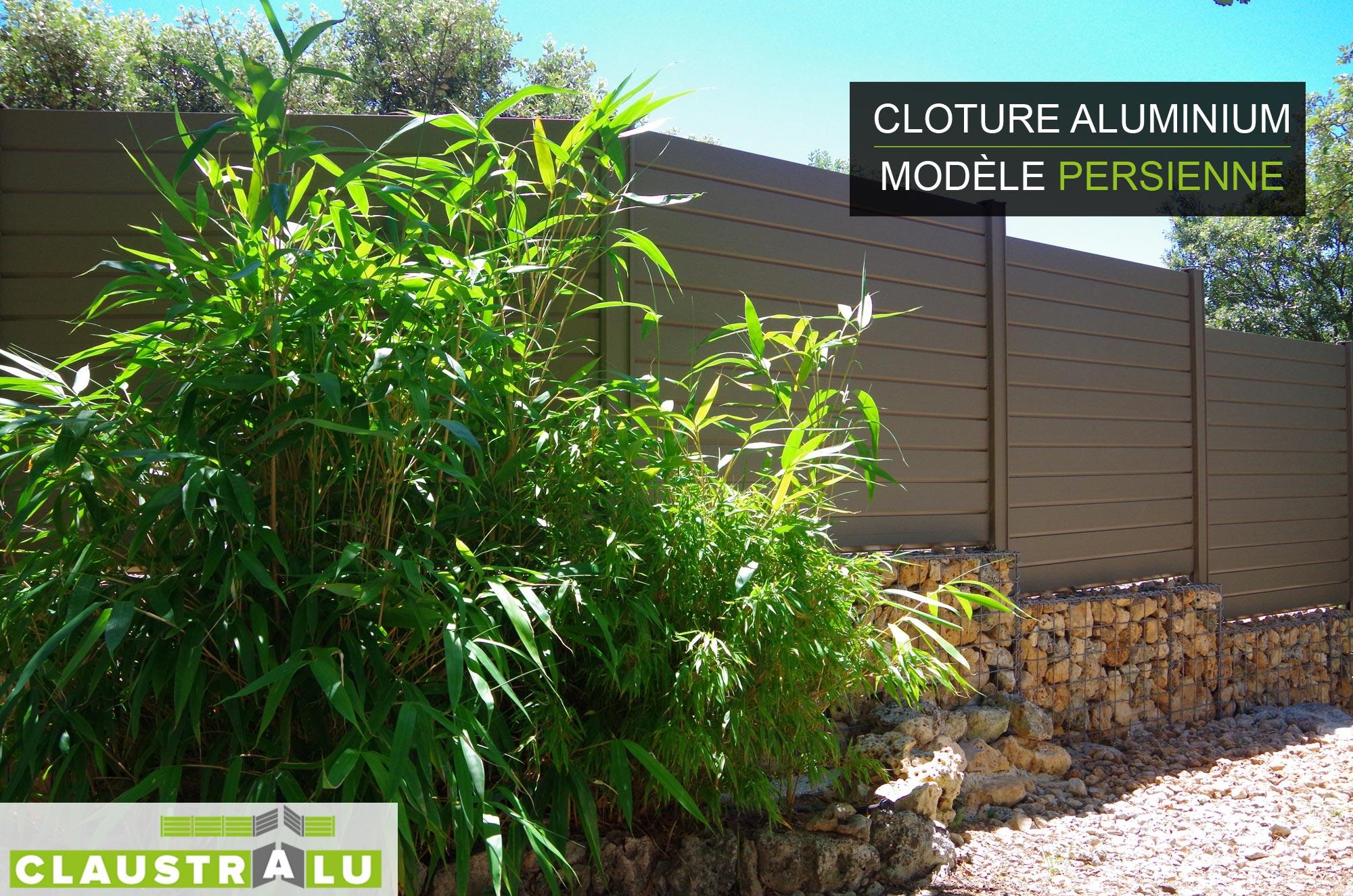 palissade en alu affordable awesome clture aluminium. Black Bedroom Furniture Sets. Home Design Ideas