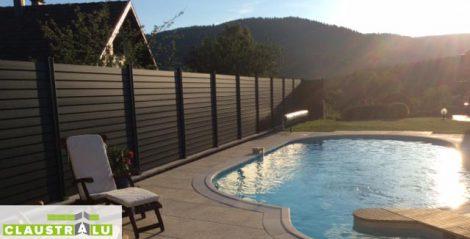 clôture de jardin aluminium