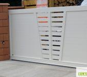 Portail Couleur blanche RAL9010