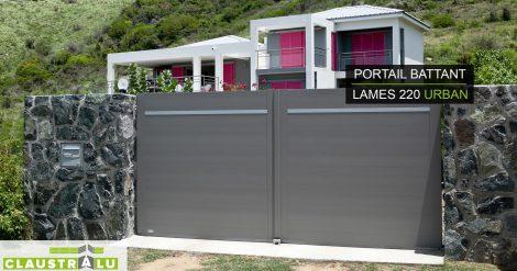 portail aluminium design URBAN