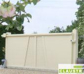 Portail de Jardin blanc Moderne et Contemporain