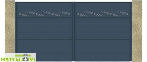 Portail Double Battant Design Modèle Jacquard