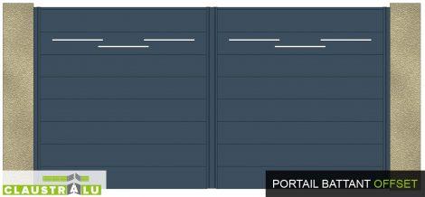 portail design et moderne contemporain