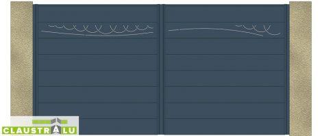 Portail Double Battant Design Modèle Spring