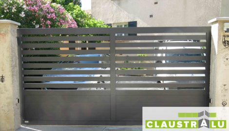 Portail aluminium Électrique