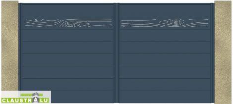 Portail Battant Design Modèle Wood