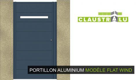 portillon moderne et design Flat WIND