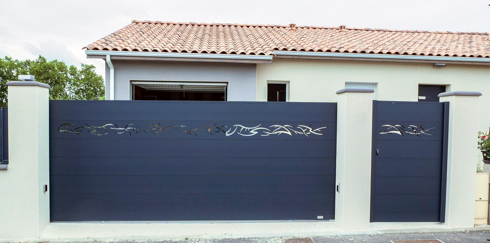 fabricant de portail sur mesure et claustra alu en france. Black Bedroom Furniture Sets. Home Design Ideas